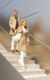 Жіноче пальто широкого крою Burdastyle