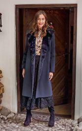 Жіноче пальто дублянка Burdastyle