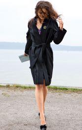 Жіноче пальто просторого крою Burdastyle