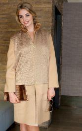 Жіноче пальто з жилетом Burdastyle
