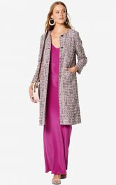 Женское пальто прямого кроя Burdastyle
