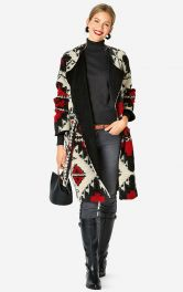 Жіноче трикотажне пальто Burdastyle