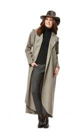 Жіноче пальто з капюшоном Burdastyle