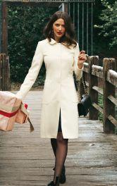 Жіноче однобортне пальто Burdastyle