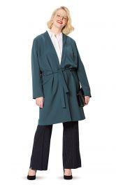 Жіноче пальто покрою кімоно Burdastyle