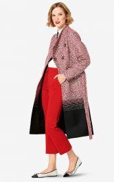 Жіноче пальто приталеного крою Burdastyle