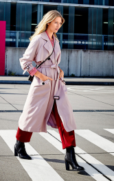 Жіноче пальто-тренчкот Burdastyle