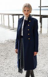 Жіноче відрізне пальто Burdastyle