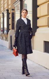 Жіноче вінтажне пальто Burdastyle
