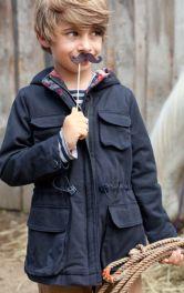 Дитяча парка з капюшоном Burdastyle