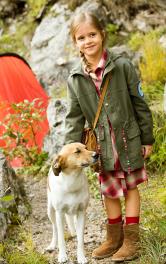Дитяча куртка парка Burdastyle