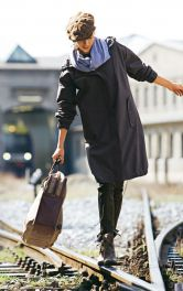Жіноча парка з капюшоном Burdastyle
