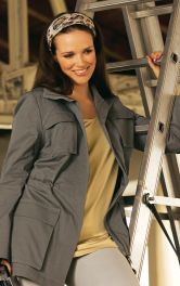 Жіноча куртка з кишенями Burdastyle