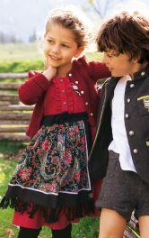 Дитячий піджак янкер Burdastyle