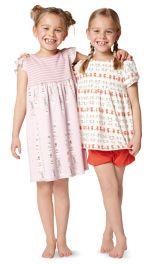 Дитяча нічна сорочка і піжама Burdastyle