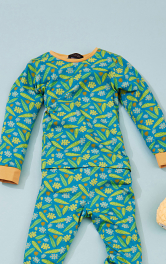 Дитячі піжамний пуловер Burdastyle