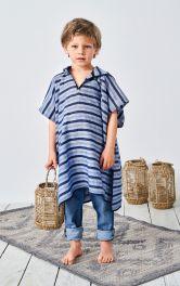 Дитяче пончо з капюшоном Burdastyle