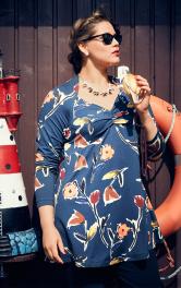 Жіночий пуловер-туніка Burdastyle