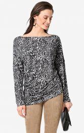 Жіночий пуловер асиметричного крою Burdastyle