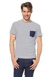 Чоловіча футболка з короткими рукавами Burdastyle