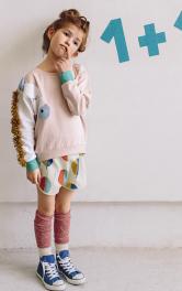 Дитячий пуловер з декором Burdastyle
