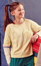 Дитячий пуловер в спортивному стилі Burdastyle