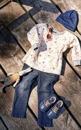 Детский пуловер Burdastyle