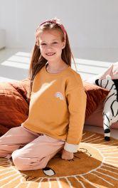 Дитячий пуловер простого крою Burdastyle