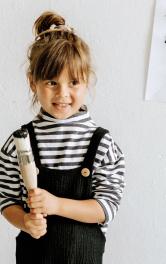 Дитячий пуловер просторого крою Burdastyle