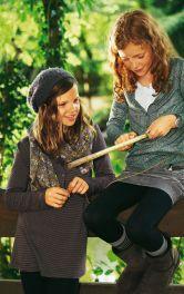 Дитячий пуловер приталеного крою Burdastyle