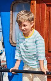 Дитяча футболка із застібкою поло Burdastyle