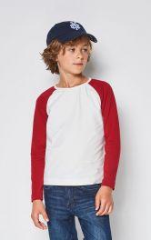Дитячий пуловер з рукавами реглан Burdastyle