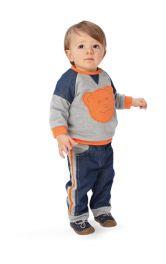 Дитячий пуловер прямого крою Burdastyle