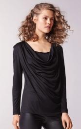 Жіночий трикотажний пуловер і бюстьє Burdastyle