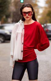 Женский пуловер с драпировками Burdastyle фото 1