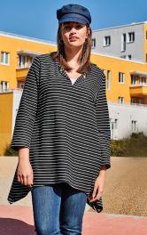 Женский пуловер-тельняшка Burdastyle фото 1