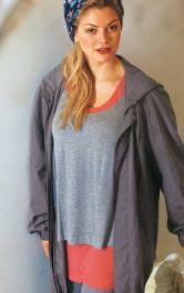 Жіночий двошаровий пуловер Burdastyle