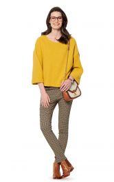 Жіночий пуловер широкого крою Burdastyle