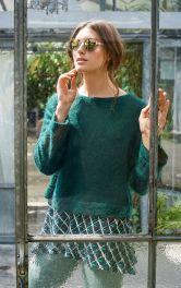Женский многослойный пуловер Burdastyle фото 1