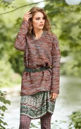 Жіноча пуловер прямого крою Burdastyle