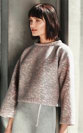 Жіночий короткий пуловер Burdastyle
