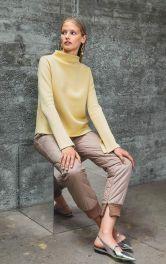Женский пуловер простого кроя Burdastyle