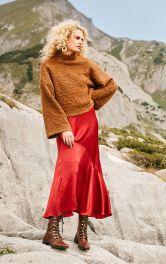 Жіночий пуловер букле Burdastyle