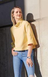 Женский короткий пуловер Burdastyle фото 1