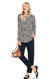 Жіночий пуловер прямого крою Burdastyle