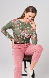 Женский пуловер прямого кроя Burdastyle