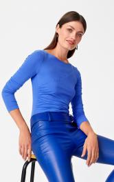 Жіночий пуловер з драпіровкою Burdastyle