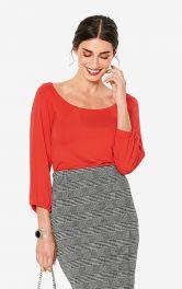 Жіноча трикотажна блуза Burdastyle