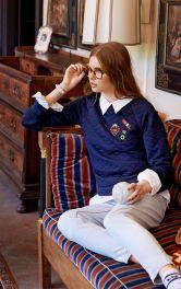Жіночий пуловер реглан Burdastyle