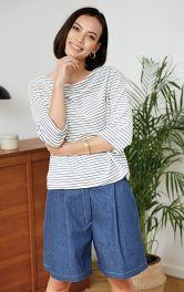 Жіночі джинсові шорти Burdastyle